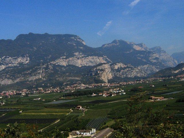 Rock Climbing Photo: Arco from near Mori
