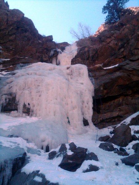 Rock Climbing Photo: Coors, 2/19.