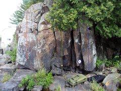 Rock Climbing Photo: the blue