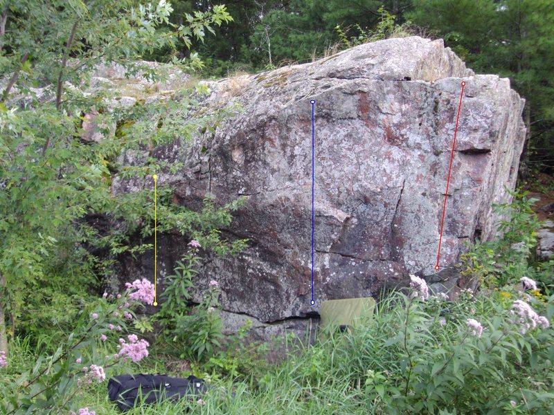 Rock Climbing Photo: yellow