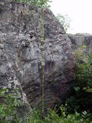 Rock Climbing Photo: follow the arete up