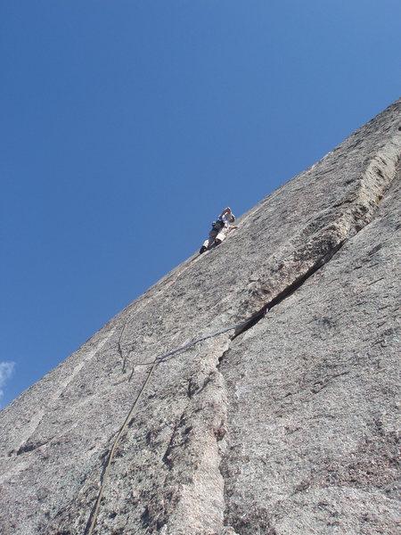 Rock Climbing Photo: easy?