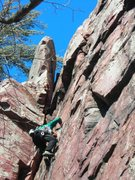 Rock Climbing Photo: The anchor was in place already.... may as well le...