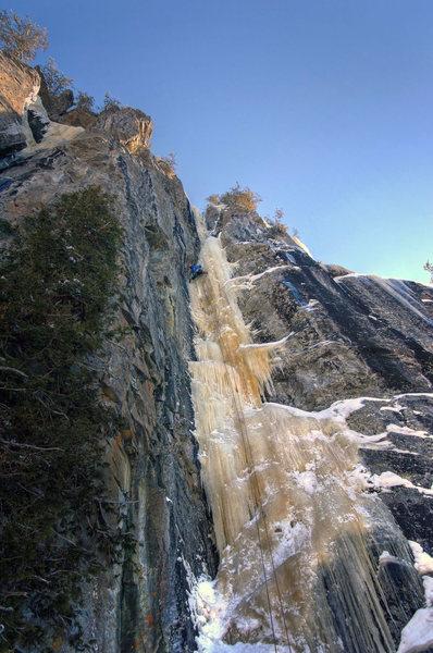Rock Climbing Photo: 10% Real. Feb '011.