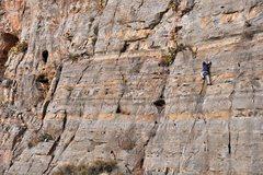 Rock Climbing Photo: Hunter on HQD.