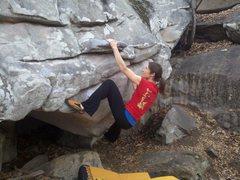 Rock Climbing Photo: Pancake Mantle
