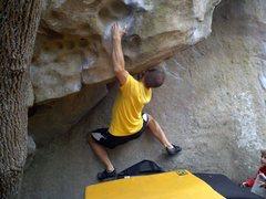 Rock Climbing Photo: Near the start of Galaxy 5000