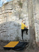 Rock Climbing Photo: Mike on Mystery Machine.