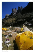 Rock Climbing Photo: Los Torres from base camp.