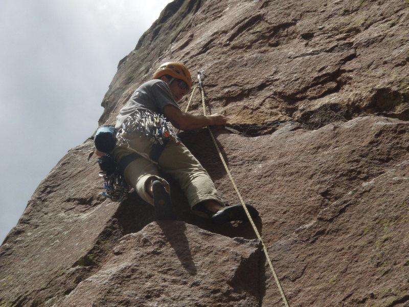 Rock Climbing Photo: name that climb