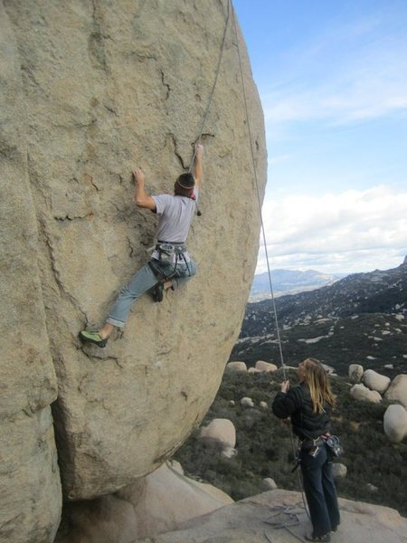 Rock Climbing Photo: hellrazor