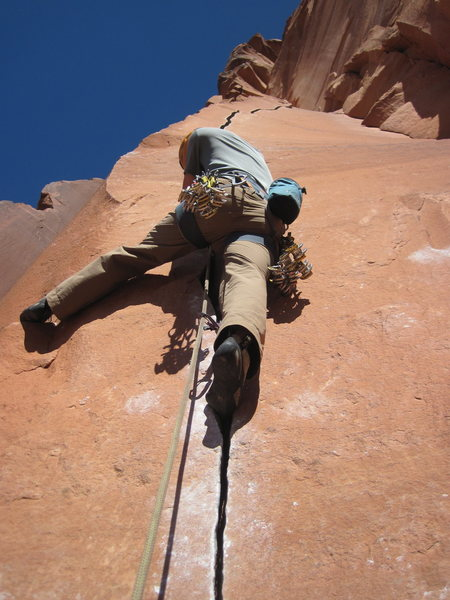 Rock Climbing Photo: another good one