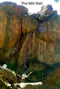 Rock Climbing Photo: Steep! The Rightover is the right-facing corner th...