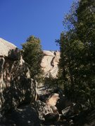Rock Climbing Photo: From the hike in.