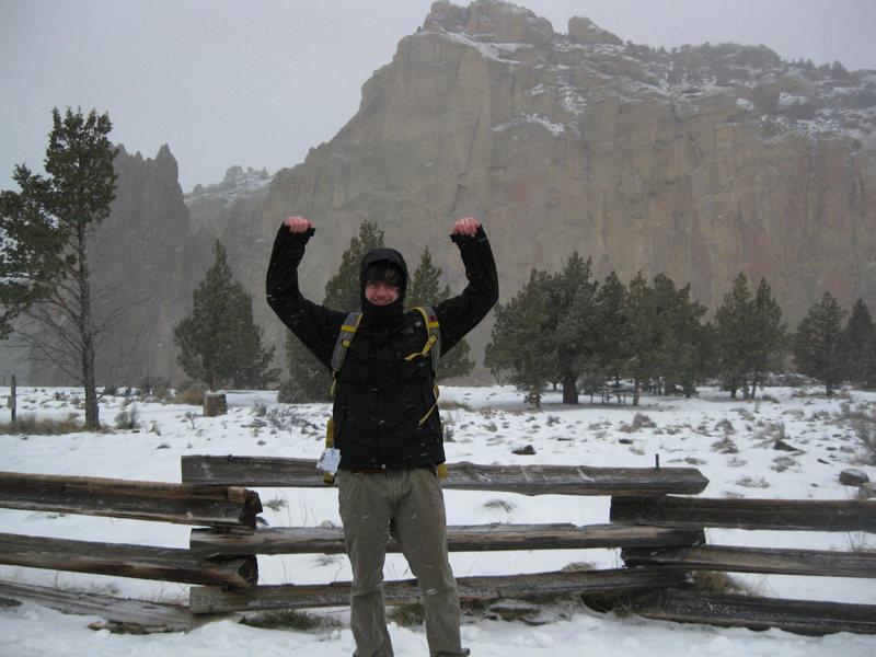 Rock Climbing Photo: A great day or climbing!