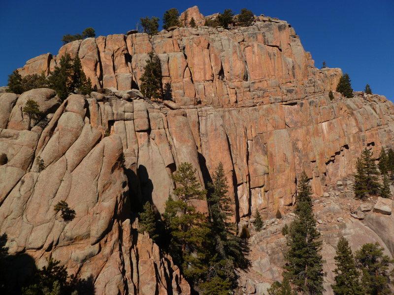 Rock Climbing Photo: Hall of Mirrors.