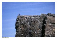 Rock Climbing Photo: cowabunga baby