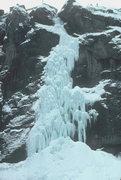 Rock Climbing Photo: Late season, 1979...lots of ice!