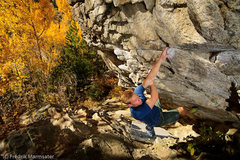 Rock Climbing Photo: Barrio traverse