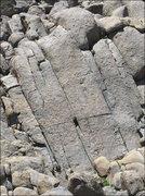 Rock Climbing Photo: Dinosaur Cracks. Photo by Blitzo.
