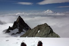 Rock Climbing Photo: Mt. Baker from the Sulphide Glacier