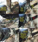 Rock Climbing Photo: Problem Solution2