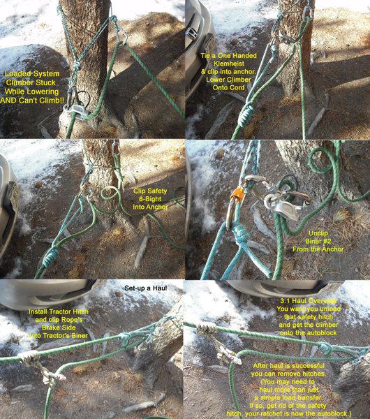 Rock Climbing Photo: Problem Solution 3
