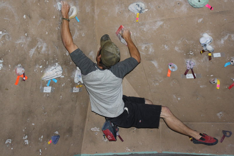 Rock Climbing Photo: at grand junction climbing center