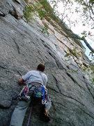 Rock Climbing Photo: the start