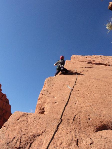 Aesthetic climbing.