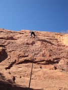 Rock Climbing Photo: Very nice climbing...climbed in memory of Kathy.
