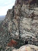 Rock Climbing Photo: the S walls of Oak Creek Canyon