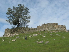 Rock Climbing Photo: The San Andreas Fault has unearthed this beauty ju...
