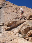 """Rock Climbing Photo: At the """"crux"""" if there was one at 5.5 So..."""