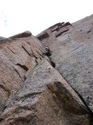 Rock Climbing Photo: Hot Brownie 5.11b