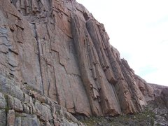 Rock Climbing Photo: Lions Wall right