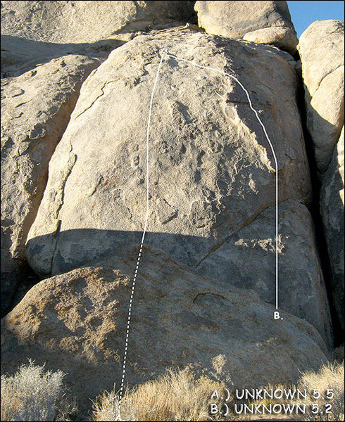 Rock Climbing Photo: Unknown 5.2. Photo by Blitzo.