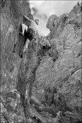 "Rock Climbing Photo: Riley Wyna on ""Dead Man Walking"". Photo ..."