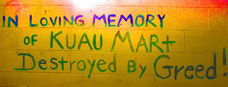 The Nomura family's Kuau Mart has fed and supported the North Shore Surfing community for many years and Friday they will be gone!<br> Photo: Olaf Mitchell