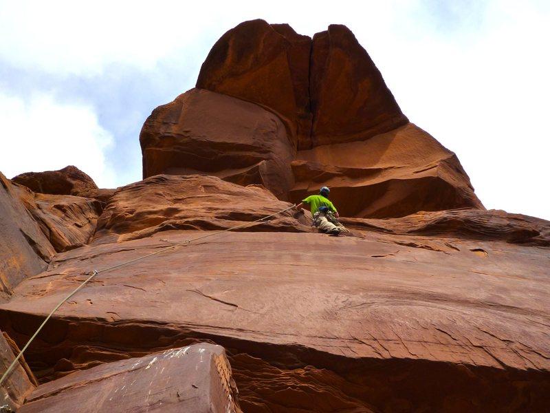 Rock Climbing Photo: Oh.  Crap.
