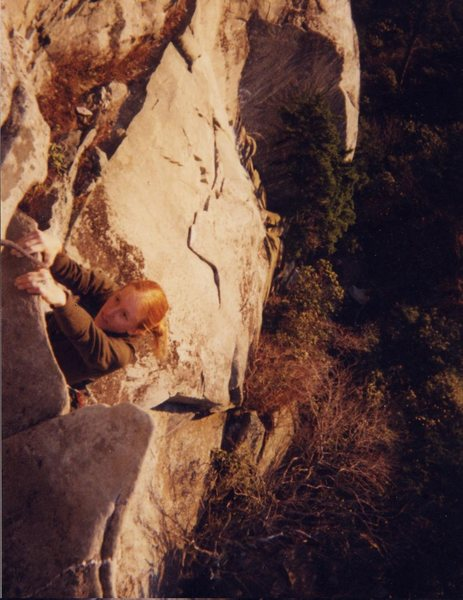 Rock Climbing Photo: guess the route