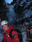 Rock Climbing Photo: Taking off after a good day climbing on the 9th Ho...