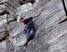 Rock Climbing Photo: Junior