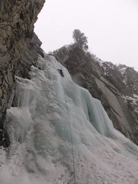 Rock Climbing Photo: Marble Falls.