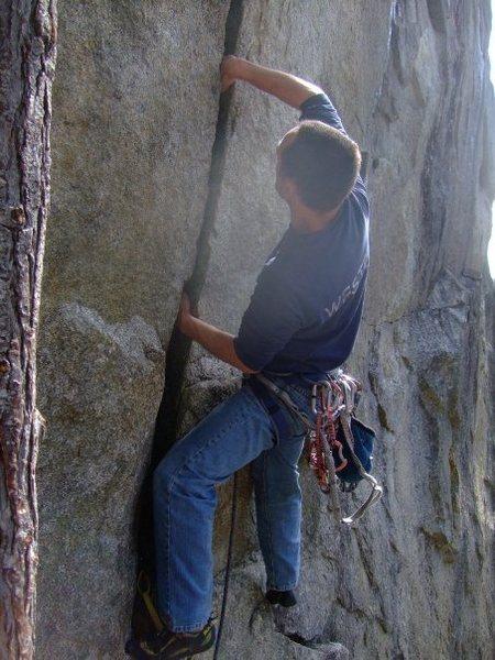 Rock Climbing Photo: Breakfast of Champions
