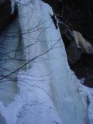 Rock Climbing Photo: The Beast (4+), Kinsman Notch, NH