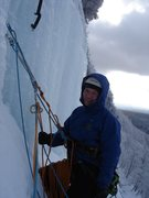 Rock Climbing Photo: Some belay...somewhere
