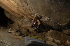 Rock Climbing Photo: Night time in the land of obscurity