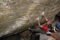 Rock Climbing Photo: I wear my head lamp at noon