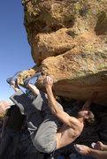 Rock Climbing Photo: Me making it look like an 8o's chuff fest